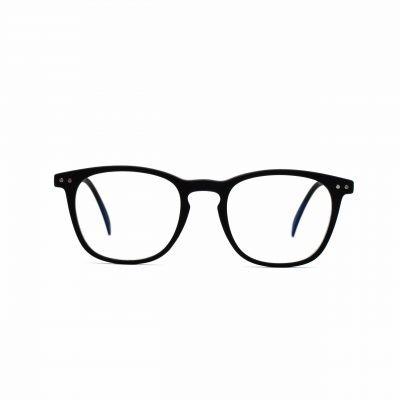 black_blue_light_glasses_square_william_front