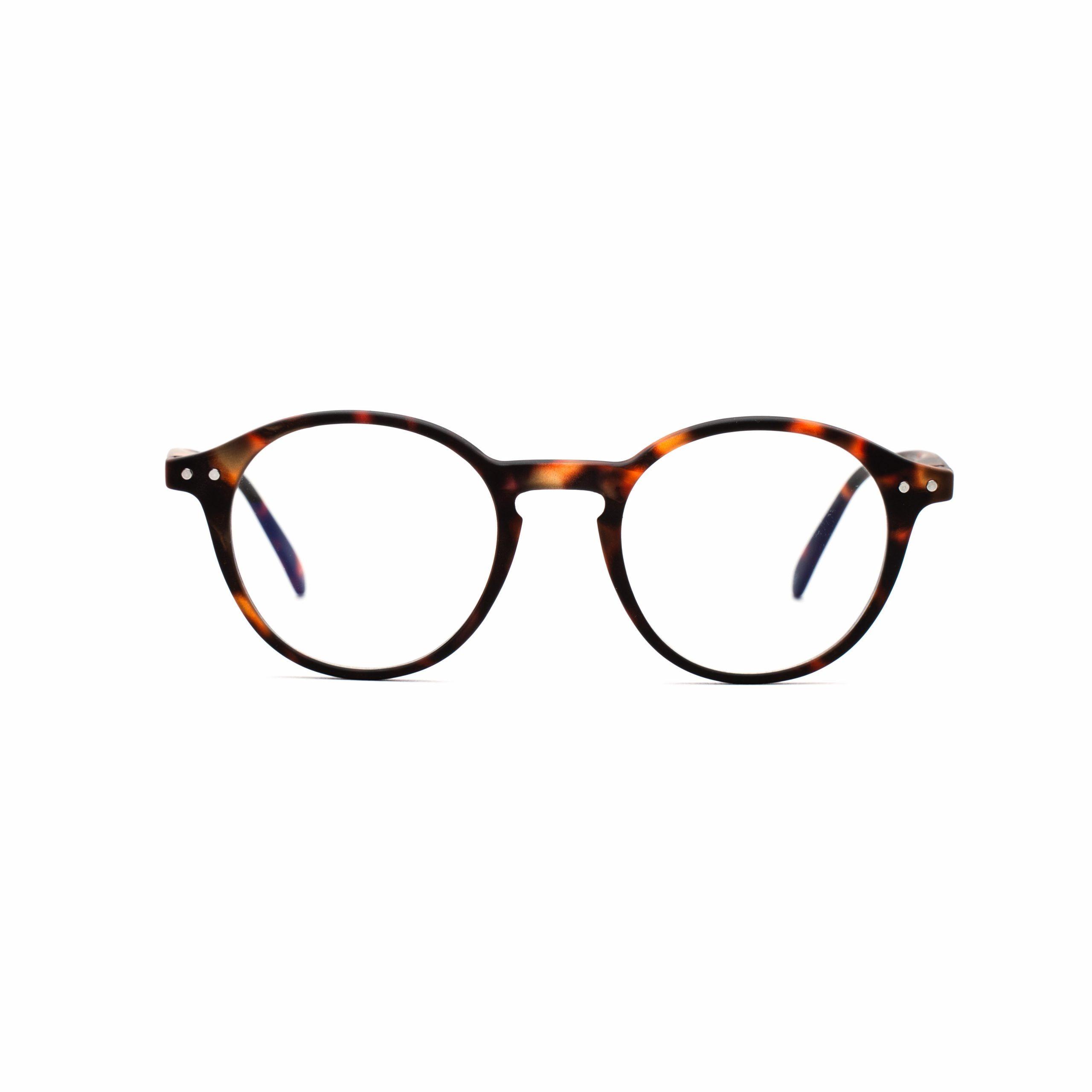tortois_blue_light_glasses_round_luca_front
