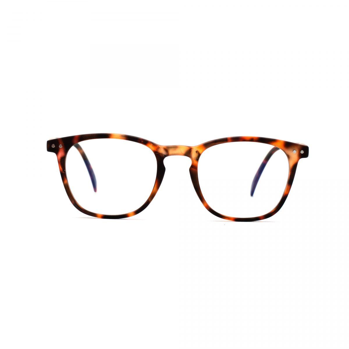 tortois_blue_light_glasses_round_william_front